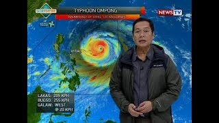 Weather update as of 11:57 a.m. (September 13, 2018)