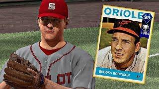 DIAMOND BROOKS ROBINSON DEBUT!! MLB The Show 17 Diamond Dynasty