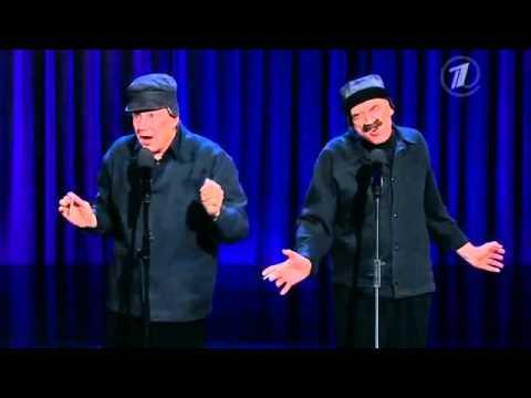 Повтори  Валерий и Александр Пономаренко   пародия на Илью Олейникова и Юрия Стоянова 22 12 2013