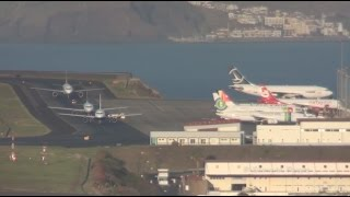 AWESOME PLANE SPOTTING in Madeira Airport