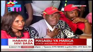 Ms. Ann Thumbi attends Mr. MacDonald Mariga's day with IEBC! He simply failed clearance mark