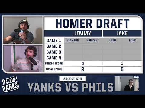 Yankees vs Phillies Doubleheader Game 1 | August 5, 2020