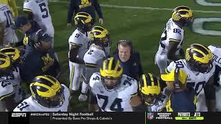 Penn State vs Michigan 2019 White Out SkyCam Feed