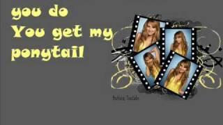 Ashley Tisdale- Hair- with lyrics