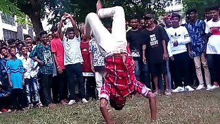New African style stunt video vol 3 super flip action Desi boy