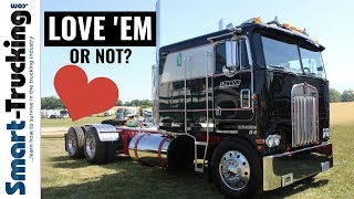 Cabover Trucks -- Our Love Hate Relationship With 'Em!