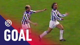 KANONSKOGEL RENÉ VAN DER GIJP ☄️   sc Heerenveen - Vitesse (14-05-1991)   Goal