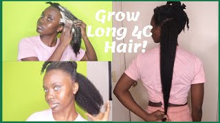 DIY EXTREME Hair Growth Deep Conditioning Butter For Natural Hair| Grow Your 4C Hair To Waist Length