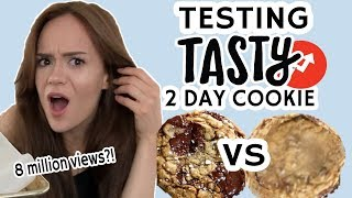 TESTING Buzzfeed Tasty's 2 DAY Cookie Recipe! Is it really that good?