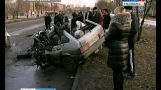 На правобережье Красноярска произошло смертельное ДТП