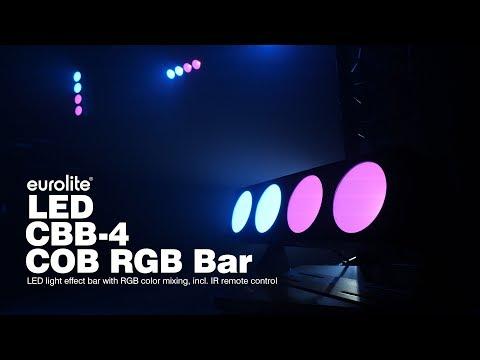 EUROLITE LED CBB-4 COB RGB Bar
