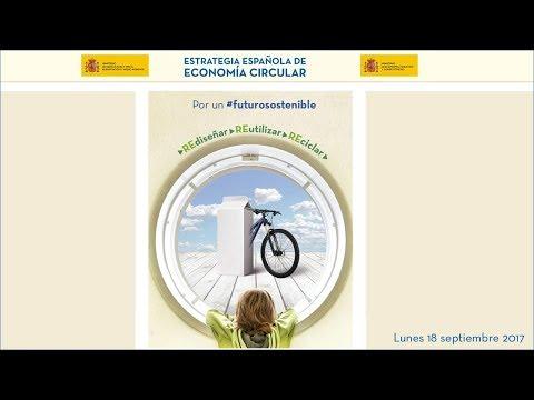 Fotograma del vídeo: Estrategia española de economía circular