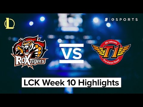 HIGHLIGHTS: ROX Tigers vs. SK Telecom T1 (2017 LCK Spring)