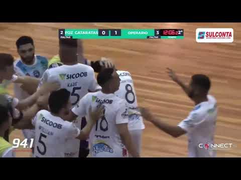 Gols Foz Cataratas 03 x 02 Operário Laranjeiras Campeonato Paranaense Chave Ouro