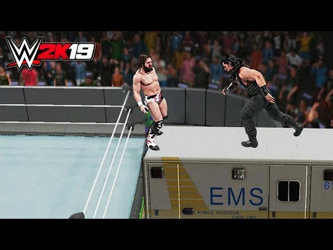 WWE 2K19 Top 10 Extreme Spears!