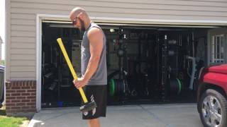 Exercise to Increase Your Bat Speed: Sledgehammer Forearm Curls
