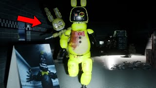 THE ANIMATRONICS HAVE FUSED INTO SOMETHING TERRIFYING.. | FNAF Five Nights at Fredbears 2