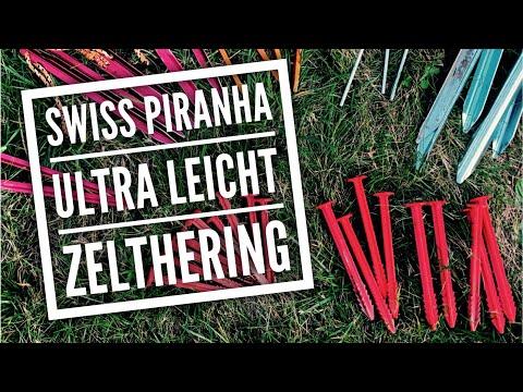 Ultraleicht Zeltheringe aus Kunststoff   Swisspiranha RT90 RT120