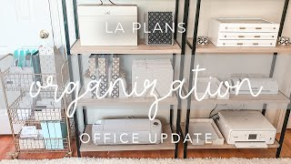 Office Update | NEW Erin Condren Desk Accessories | Home Office Organization