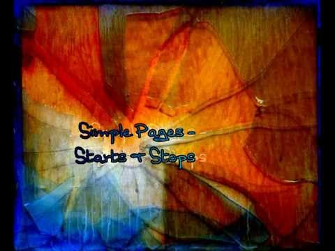 Simple Pages - Starts And Stops (Original Song)