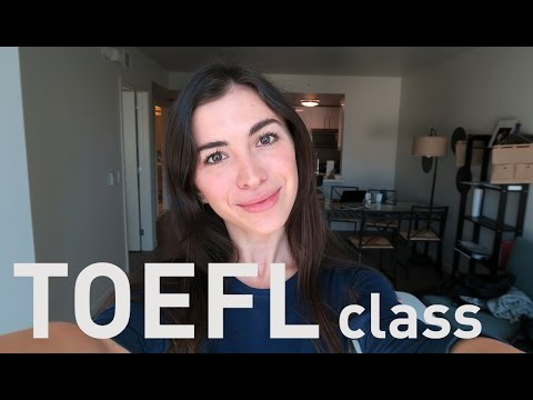 TOEFL Speaking and Writing part - online class! - YouTube