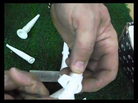 Reciclaje de cánulas de tubos de silicona