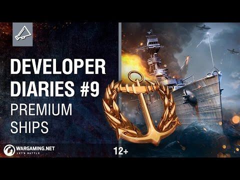 Developer Diaries #9: Premium Ships