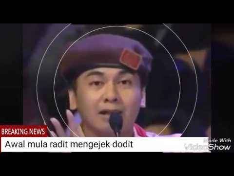 Dodit vs Radit Stand Up Comedy