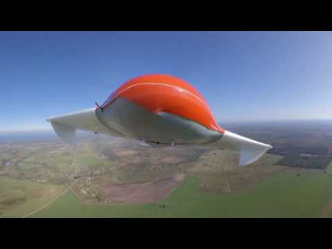 BVS Geoscan 201. Takeoff and landing. 360 degree panoramic video.