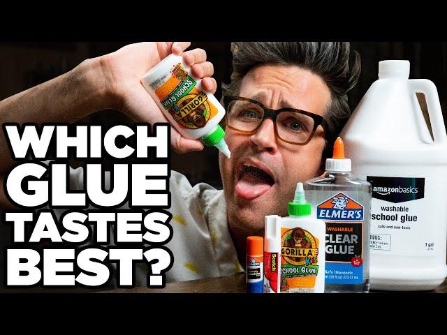 Which Glue Tastes Best? (Glue Taste Test)