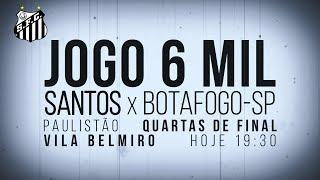 Santos FC atinge marca histórica de 6 mil jogos!
