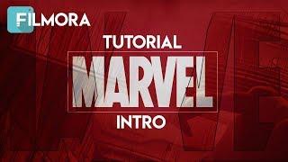 tutorial Edit Intro Seperti Marvel Studios Di Filmora