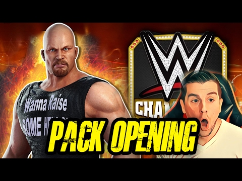 A PACK OPENING THAT WILL BLOW YOUR MIND!! | WWE Champions #3