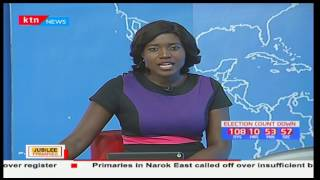 KTN Newsdesk full bulletin part one: Jubilee party primaries - 21st April, 2017