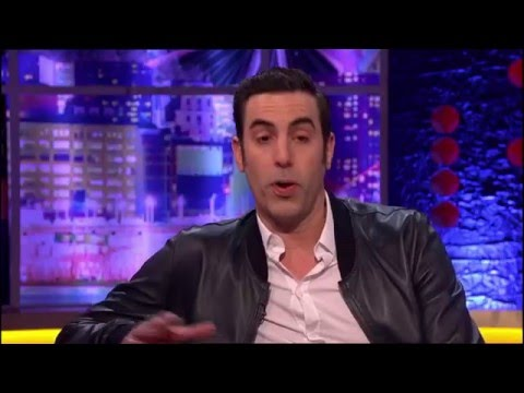 Sacha Baron Cohen on The Jonathan Ross Show | 13th Feb. 2016