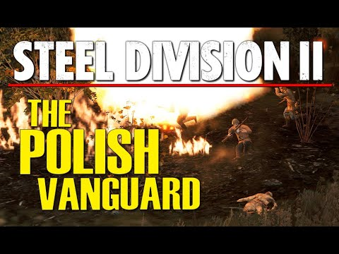 THE POLISH VANGUARD! Steel Division 2 Conquest Gameplay (Brest West, 4v4)