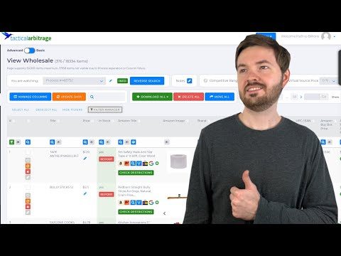 Using Tactical Arbitrage To Scan Wholesale Lists From Your Suppliers
