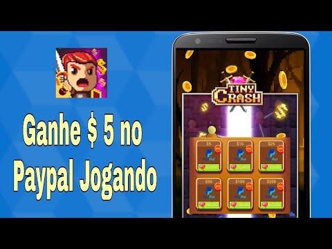 NOVO App para GANHAR dinheiro no PAYPAL Jogando - Tiny Crash