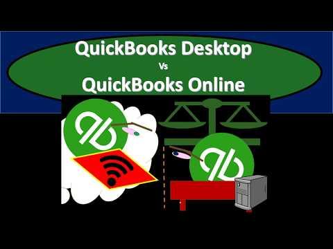 QuickBooks Desktop Vs QuickBooks Online - 2019
