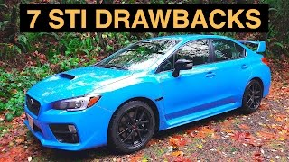 7 Reasons Not To Buy The 2016 Subaru WRX STI