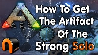 Ark How to get the ARTIFACT OF STRONG SOLO from the Ice Cave