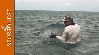 Saltwater Fly Fishing for Monster GT and Bonefish at Cosmoledo, Seychelles 🎣