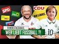Merkel Oder Schulz: Wer LIEBT Fußball?!