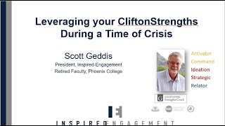 Using Your CliftonStrengths During a Time of Crisis