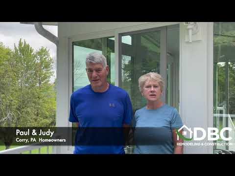 Corry PA Sunroom Testimonial From Paul & Judy