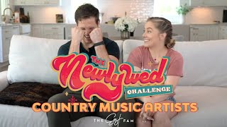 Newlywed Challenge: Country Music Edition (ft. Aldeans, Browns, Bryans, & Wicks) | the east fam