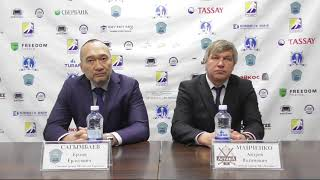 Пресс-конференция «Алтай Торпедо» - ХК «Астана» (9:3, 6:4)