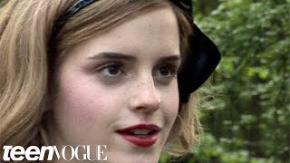 Эмма Уотсон, Emma Enchanted: Emma Watson's Teen Vogue Cover Shoot