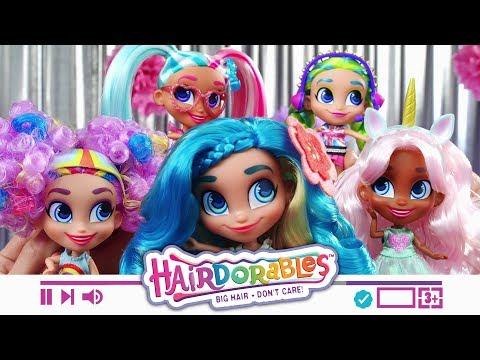 Игровой набор Just Play Hairdorables S1 (в ассорт)