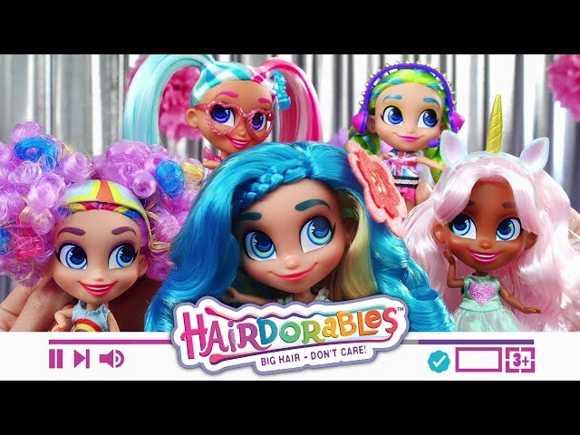 Видео Hairdorables
